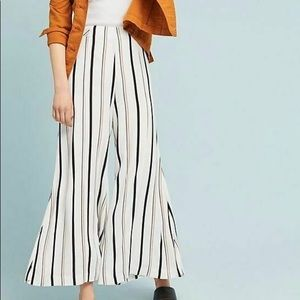 Anthropologie flared pants